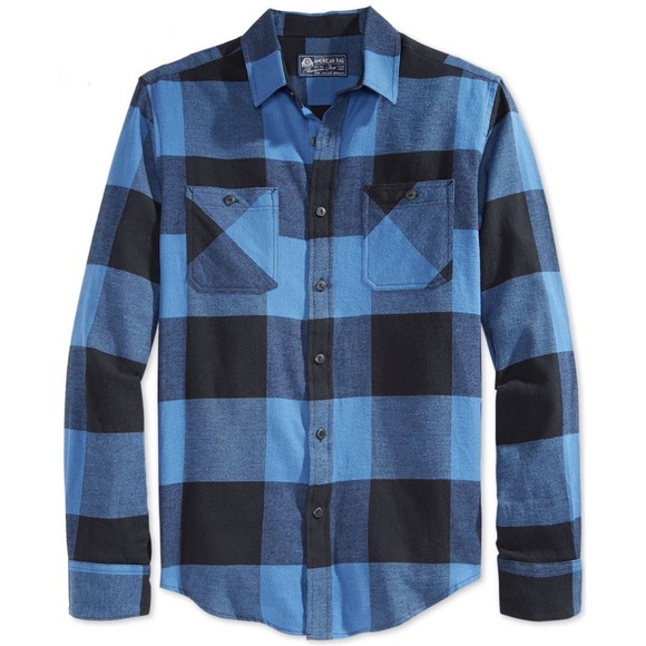 American Rag Other - American Rag Blue Buffalo Check Soft Flannel